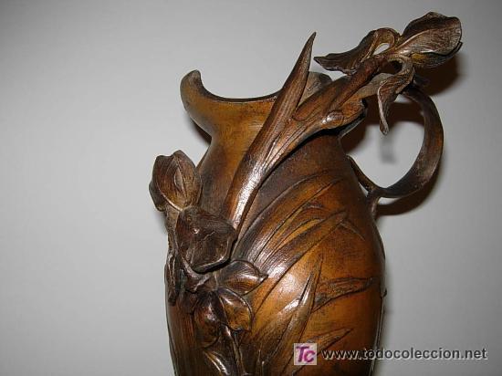 Arte: Jarrón florero modernista-art nouveau. Firmado Elsie Ward Hering - Foto 5 - 15380350